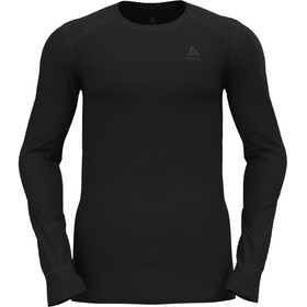 Odlo Active Warm Eco Top Manga Larga Cuello Barco Hombre, black